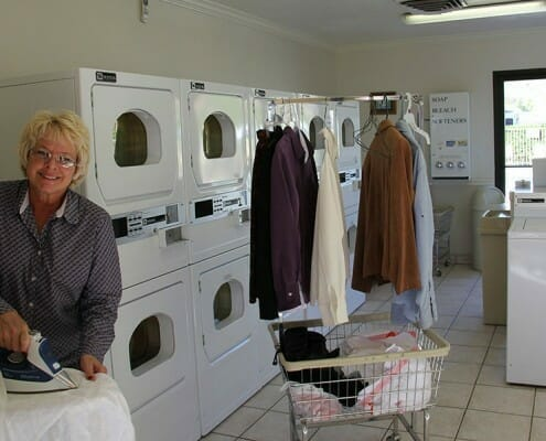 St George Utah RV Resort Laundry Room
